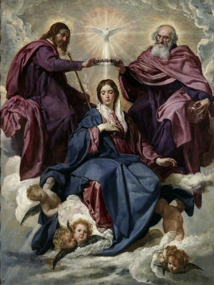 Trao triều thiên cho Đức Trinh nữ Maria