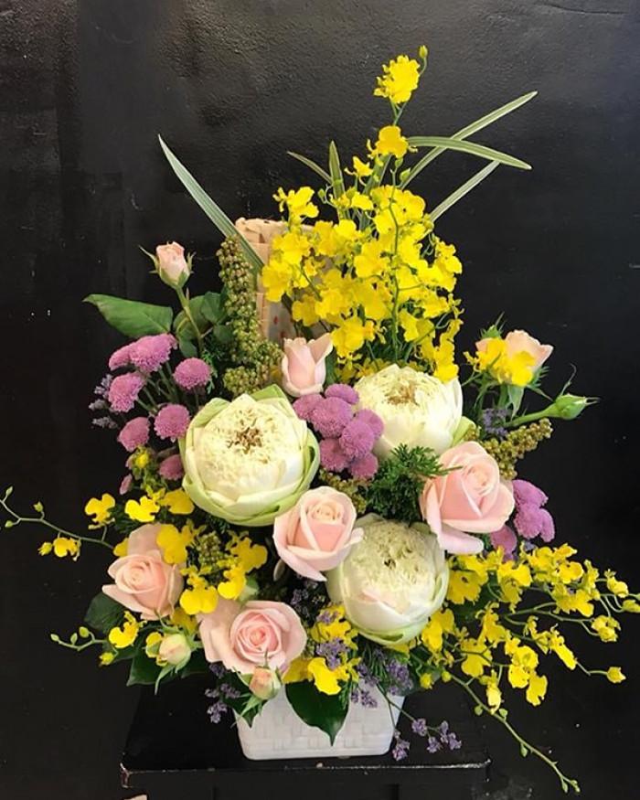 Mẫu hoa đẹp tri ân thương binh, cựu chiến binh, người có công với cách mạng
