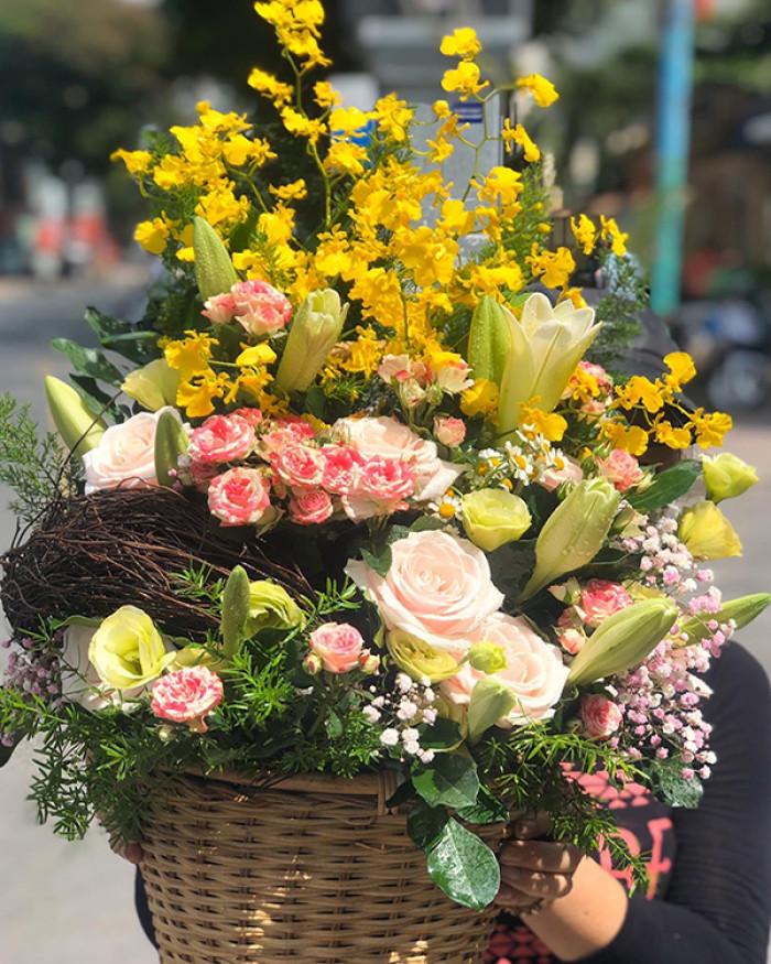 Mẫu hoa đẹp tri ân thương binh, cựu chiến binh, người có công với cách mạng(2)