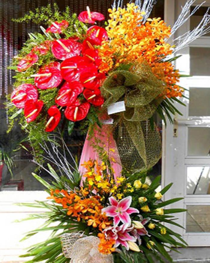Mẫu hoa đẹp chúc mừng ngày truyền thống CAND 19/8 dành tặng tập thể