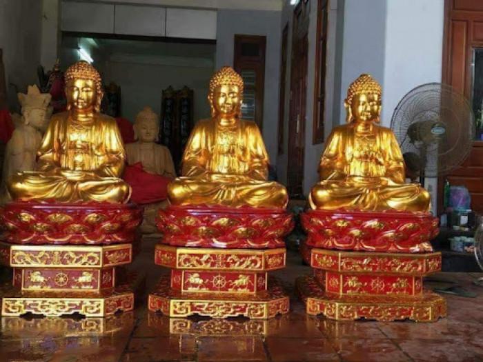 Cách dát vàng tượng Phật