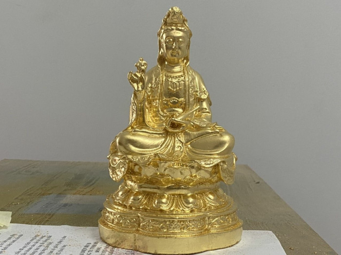 Giá dát vàng tượng Phật