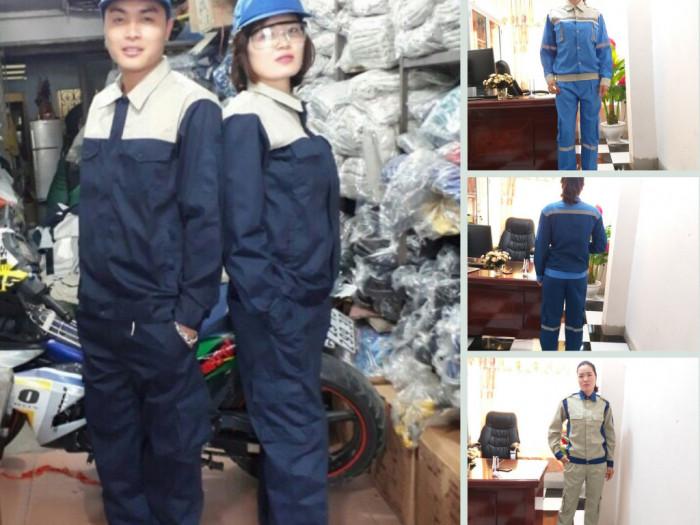 Nhà cung cấp quần áo bảo hộ lao động có sẵn, nhận in ấn logo thương hiệu theo yêu cầu Hà Nội
