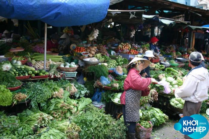 Chợ rau củ online