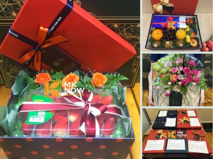 Điện set quà tặng trái cây trao gửi khách hàng tận nhà ở các quận TPHCM