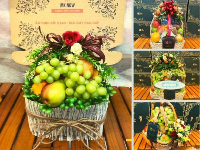 Giỏ trái cây quà tặng nữ y bác sĩ điều dưỡng nhân ngày 20/10 - Cảm ơn bạn, người chiến sĩ áo trắng