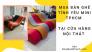 Mua bán ghế tình yêu mini TPHCM - dòng ghế đa năng, gấp gọn tại các cửa hàng nội thất trên MuaBanNhanh