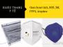 Khẩu trang y tế than hoạt tính, N95, 3M, FFP2, Airphin