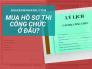 Mua hồ sơ thi công chức ở đâu? Bán buôn, bán lẻ từ nhà in offset bộ hồ sơ công nhân viên chức tại Hà Nội