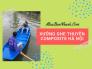Xưởng ghe thuyền Composite Hà Nội - Chuyên làm, đóng thuyền nhựa composite chở hàng, câu cá, du lịch, thuyền đua đuôi én