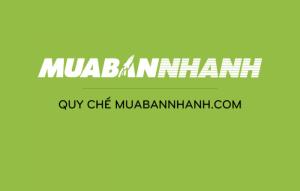 Quy chế MuaBanNhanh.com