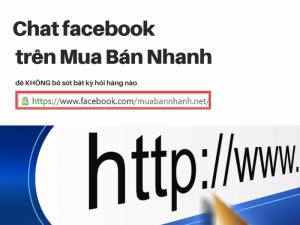 Cách Gắn Chat Facebook Vào Mua Bán Nhanh