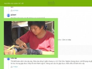 Phóng Sự Người Sài Gòn Tử Tế: Beo - Cậu Bé Sửa Giày Miễn Phí Cho Người Nghèo - Tài Trợ Từ Mua Bán Nhanh