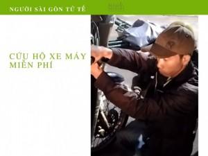 Phóng Sự Người Sài Gòn Tử Tế: Tiếp Sức 3 Anh Em Cứu Hộ Xe Máy Ngập Nước - Tài Trợ Từ Mua Bán Nhanh