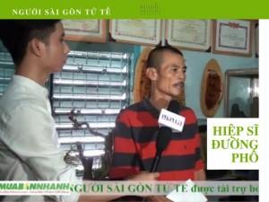 Phóng Sự Người Sài Gòn Tử Tế: Ông Xe Ôm Nghèo Bắt Hơn 500 Vụ Cướp Giật - Tài Trợ Từ Mua Bán Nhanh