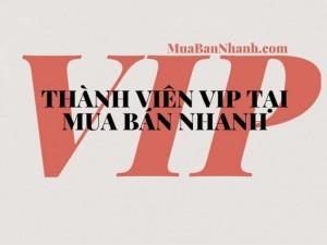 Tại Mua Bán Nhanh thành viên thường khác thành viên VIP như thế nào?