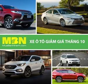 Top 3 Mẫu Xe Giảm Giá Hàng Trăm Triệu Tại Thị Trường Việt Nam Tháng 10 / 2017