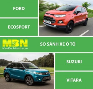 So Sánh Suzuki Vitara Và Ford Ecosport