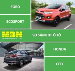 So Sánh Ford Ecosport Và Honda City