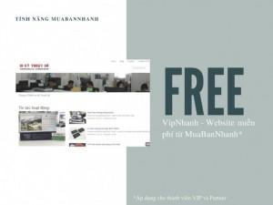 Cập Nhật Trang Vipnhanh - Website Miễn Phí Từ Muabannhanh