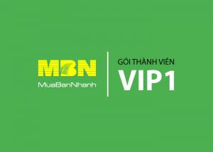 Dịch vụ thành viên VIP 1 MuaBanNhanh