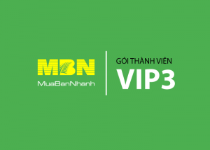 Dịch Vụ Thành Viên VIP 3 MuaBanNhanh