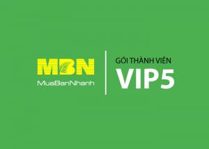 Dịch vụ thành viên VIP 5 MuaBanNhanh