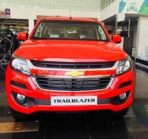 Mua trả góp xe Chevrolet Trailblazer nhập khẩu nguyên chiếc Thái Lan