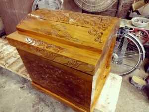 Quách gỗ vàng tâm có tốt không? Xem so sánh giá quách gỗ vàng tâm từ nhiều người bán uy tín trên MXH MuaBanNhanh