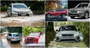 Điểm danh những chiếc SUV có khả năng lội nước trên 500mm đáng mua nhất hiện nay
