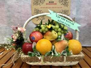 Quà tặng trái cây các ngày lễ tết trong năm