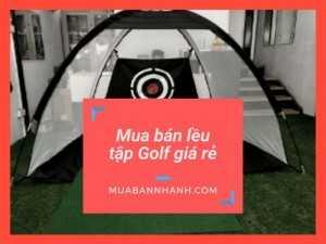 Khung lều tập Golf hình chóp, hình vuông di động, mini - Mua bán khung lều tập Golf giá rẻ trên MuaBanNhanh