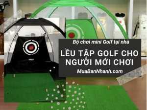 Lều (lòng) tập Golf di động, bộ mini Golf tại nhà, thảm tập Golf và lều tập Golf cho người mới chơi trên MuaBanNhanh