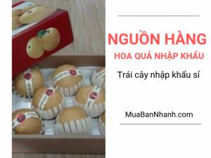 Tìm nguồn hàng hoa quả nhập khẩu - trái cây nhập khẩu sỉ trên MuaBanNhanh