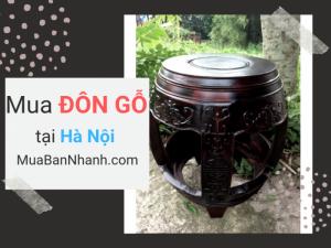 Mua đôn gỗ ở đâu Hà Nội - Chợ nội thất bán đôn gỗ online trên MuaBanNhanh