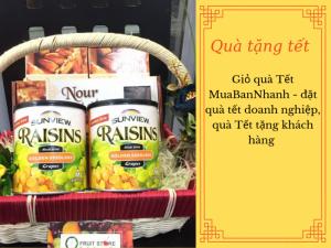 Giỏ quà Tết MuaBanNhanh - đặt quà tết doanh nghiệp, quà Tết tặng khách hàng
