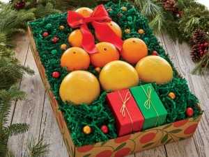 Mua hộp quà Giáng sinh trái cây - Shop quà Giáng sinh TPHCM