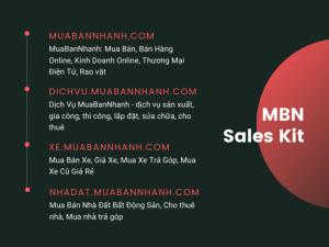 MBN Sales Kit - Bộ nhận diện thương hiệu MuaBanNhanh