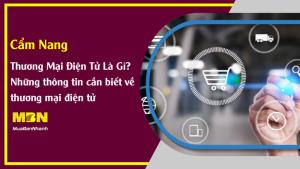 Thương mại điện tử là gì? Những thông tin cần biết và lợi ích của thương mại điện tử
