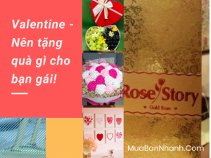 Nên tặng quà Valentine gì cho bạn gái?