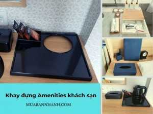 Mua bán khay đựng Amenities khách sạn chất liệu gỗ, đan lát, nhựa - Top nhà sản xuất Amenities phòng tắm trên MuaBanNhanh