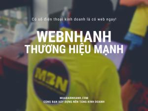 WebNhanh - Thương hiệu vững mạnh cùng VIP MuaBanNhanh