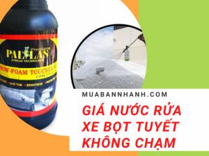 Giá nước rửa xe bọt tuyết không chạm Pallas, Sonax, Hiroma, Anaquat, Car Shampoo, 3M