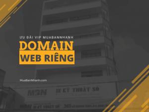 Báo giá tên miền riêng của khách hàng trên hệ thống MBN - MuaBanNhanh