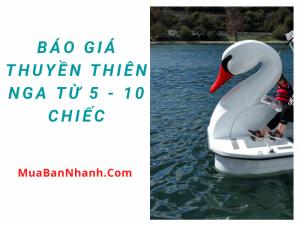 Báo giá thuyền thiên nga từ 5, 10 chiếc cho khu vui chơi giải trí - Mua thuyền thiên nga nhựa Composite Hà Nội, Quảng Ninh, Hải Phòng