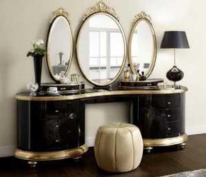 Mẫu bàn trang điểm, bàn phấn đẹp hiện đại, tân cổ điển cho phòng ngủ