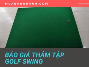 Báo giá thảm tập Golf Swing 3 lớp luyện tập, giải trí trong nhà - Đặt mua thảm tập Golf tại Hà Nội, HCM, Bình Dương, Đồng Nai, Đà Nẵng