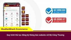 Quy trình thủ tục đăng ký thông báo website với Bộ Công Thương