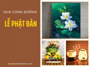 Top 5 quà tặng Cúng Dường trong ngày đại lễ Phật Đản