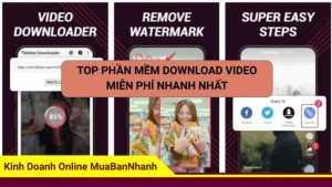 Top phần mềm download video miễn phí nhanh nhất